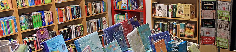 Die Buchhandlung Lesezeichen im Kriminalhaus in Hillesheim